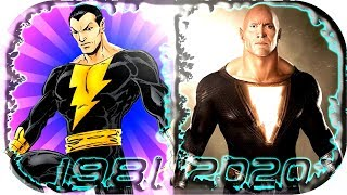 Download EVOLUTION of BLACK ADAM in Movies Cartoons TV Games (1981-2020) ⚡ Black Adam 2019 shazam scene clip Video