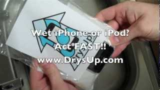 Download Water Damaged iPhone & iPod Rescue Dry Out & Repair Kit DrysUp Video