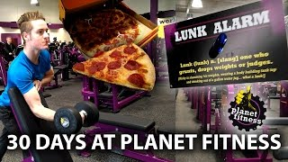 Download 30 Days at Planet Fitness - Full Review & Workout - Lunk Alarm, Free Pizza Day & Gym Tour Video