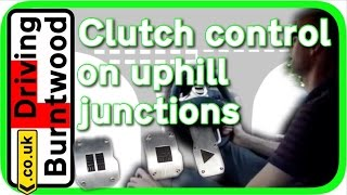 Download Clutch control driving lesson How to drive a manual car on uphill junctions, tips Video
