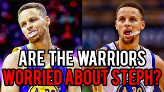Download Should the Warriors be WORRIED about Steph Curry? Video
