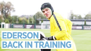 Download EDERSON IS BACK! 💪🏻 | Man City Training Video