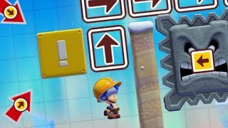 Download 🔴 Mario Maker 2: trying to clear a new level Video