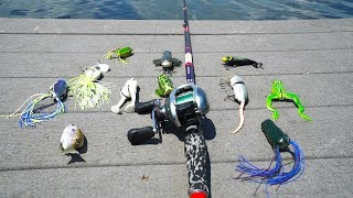 Download Top Water Lure Fishing Challenge Video
