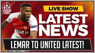 Download MANCHESTER UNITED Favourites to Sign Thomas LEMAR! Adidas confirm ZLATAN To MAN UTD Transfer News? Video