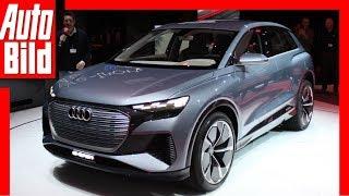 Download Audi Q4 E-Tron (2019) Weltpremiere / Genfer Autosalon / Details / Review Video