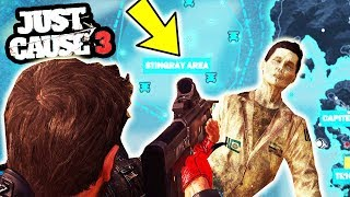 Download JUST CAUSE 3 NEW HIDDEN ZOMBIES WITH LOCATION!   SuperRebel Video