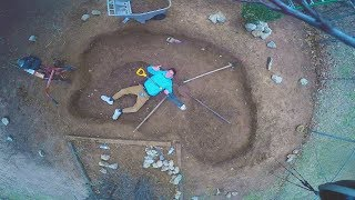 Download BUILDING A MASSIVE POND! Video