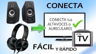 Download Como conectar altavoces o auriculares a la Televisión (Fácil y Rápido) Video