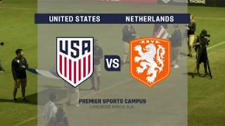 Download 2017 Nike International Friendlies: U-17 MNT vs. Netherlands Video