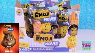 Download The Emoji Movie Blind Bag Figures Full Box Toy Review Golden Poop | PSToyReviews Video