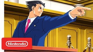 Download Phoenix Wright: Ace Attorney Trilogy - Launch Trailer - Nintendo Switch Video