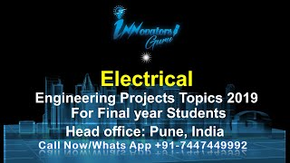 Download World's Top 10 Electrical Engineering Project topics in 2017 part 2 Video