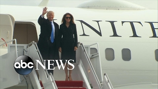 Download Trump Family Arrives in Washington Video
