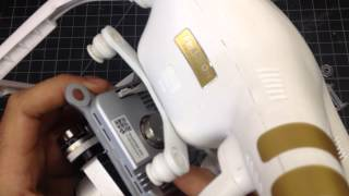Download How to remove a DJI Phantom 3 gimbal Video