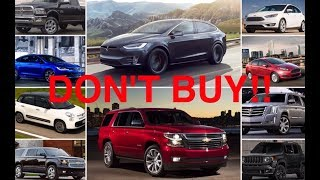 Download 10 New Cars You Should NEVER Buy Video
