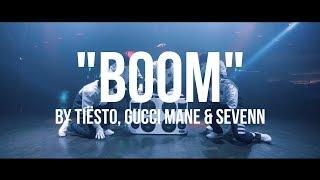 Download JABBAWOCKEEZ x Tiësto - BOOM with Gucci Mane & Sevenn Video