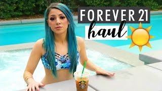 Download Spring FOREVER 21 HAUL + Collabing with Alisha, Mia + Natalie! Video
