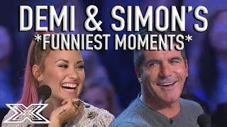 Download ″Don't Kiss Niall!″ Demi Lovato & Simon Cowell's Funniest X Factor Moments! | X Factor Global Video
