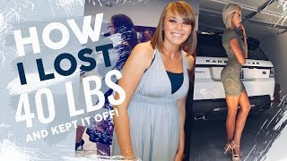 Download How I Lost 40 Pounds Video