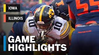 Download Highlights: Iowa at Illinois | Big Ten Football Video