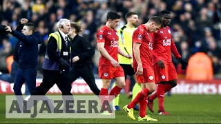 Download Football: Champion Leicester City battles EPL relegation Video