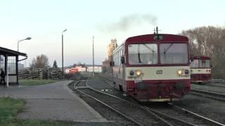 Download ČD 810 383 + 810 114 + 810 382, Bor, trať 184, 13.11.2012 Video