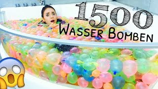 Download 1500 WASSERBOMBEN .. ( Bunch O Balloons ) WTF ?! 😵 | BibisBeautyPalace Video