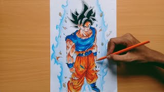 Download Drawing Son Goku Ultra Instinct by Nam Art! - Dragon Ball Super! - Youngjiji's Art Video