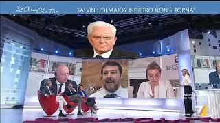 Download Myrta Merlino a Matteo Salvini: ″Ho letto un retroscena su un ritorno di fiamma tra lei e Di ... Video