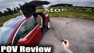 Download Tesla Model X Review POV Test Drive Video