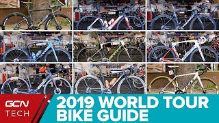 Download 2019 WorldTour Bikes Guide | New Pro Team Bikes Video
