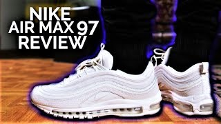 new styles 64133 e699d Nike Air Max 97 Silver Bullet 2017 Review + On Feet Free Download ...