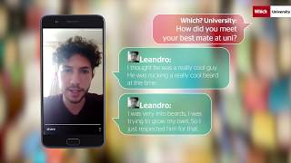 Download Beards and beers: How Leandro met his best mate at uni | Which? University Video