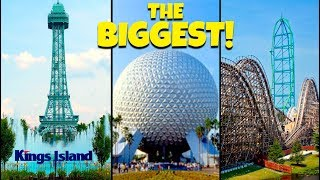 Download Top 10 Biggest Theme Parks in North America! Video