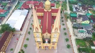 Download Toàn Cảnh Giáo Xứ Nghĩa Yên Qua Góc Nhìn Flycam Video
