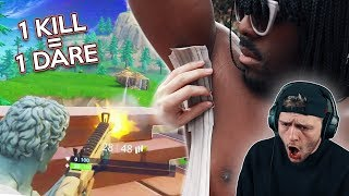 Download 1 KILL = 1 DARE ON FORTNITE BATTLE ROYALE (BRUTAL ENDING) Video
