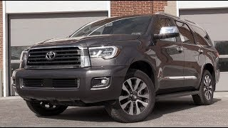 Download 2018 Toyota Sequoia: Review Video