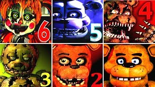Download Five Nights at Freddy's 6 FNAF 1 2 3 4 5 All Jumpscares Simulator *FNAF 2018* Video