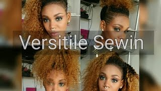 Download VERSATILE CURLY SEWIN FOR SHAVED SIDES Video