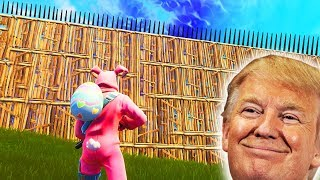 Download I Built Donald Trumps Great Wall In Fortnite... Video
