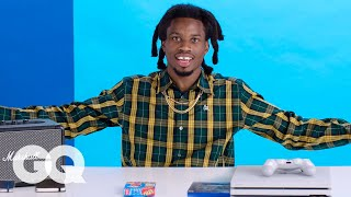 Download 10 Things Denzel Curry Can't Live Without | GQ Video