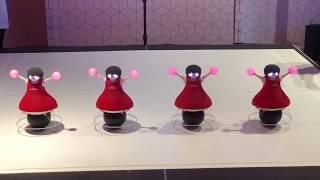 Download Murata Dancing Cheerleader Robots Perform at Epcot, Walt Disney World Resort 2018 Video