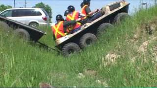 Download Argo ATV Amphibious Vehicle Compared To Four Wheeler And HUV Video