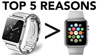 Download 5 Reasons Why iPod Nano Is Better Than Apple Watch Video