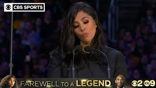 Download Vanessa Bryant shares powerful, emotional words at Kobe and Gianna Bryant Memorial | CBS Sports HQ Video