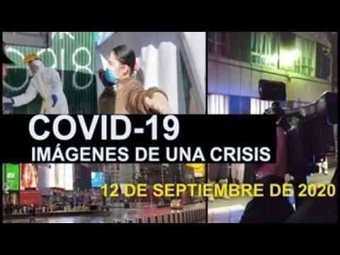 Covid-19 Imágenes de una crisis en el mundo. 12 de septiembre