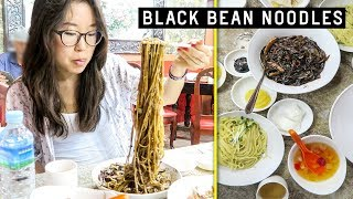 Download BLACK BEAN NOODLES ♦ Chinatown in South Korea ft Lamb Skewers Video