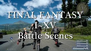 Download ファイナルファンタジー1~15戦闘シーンの歴史 FINAL FANTASY I~XV History of Battle Scene Video