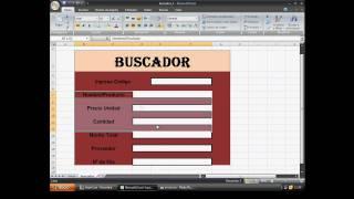 Download Buscador de datos internos en excel 2007 Video